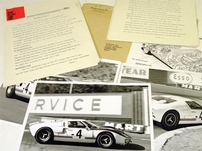 Lot 115 - Ford GT40 Mk II Press Release