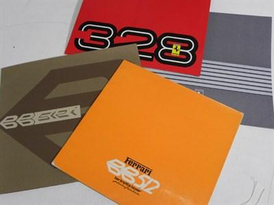 Lot 126 - Four Ferrari Sales Brochures