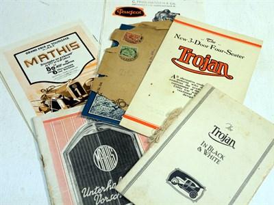 Lot 129 - Seven Sales Brochures