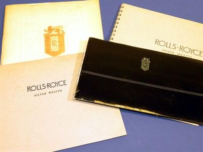 Lot 137 - Five Rolls-Royce Sales Brochures
