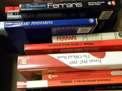 Lot 149 - Quantity of Ferrari Books
