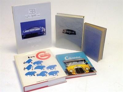 Lot 150 - Five Rare French Car Books