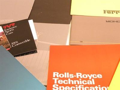 Lot 155 - Quantity of Sales Brochures