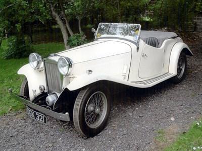 Lot 21 - 1936 British Salmson 12/70 S4C Sports Tourer