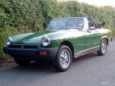 Lot 14 - 1979 MG Midget 1500