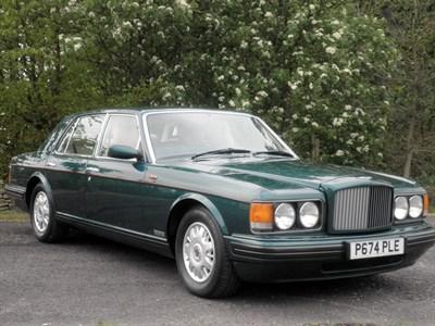 Lot 13-1997 Bentley Brooklands (LPT)