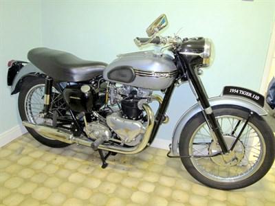 Lot 8 - 1954 Triumph T110 Tiger