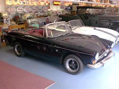 Lot 34-1965 Sunbeam Tiger