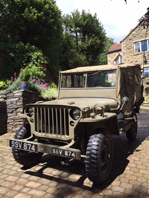 Lot 88-1944 Ford GPW Jeep