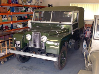 Lot 40-1955 Land Rover 86