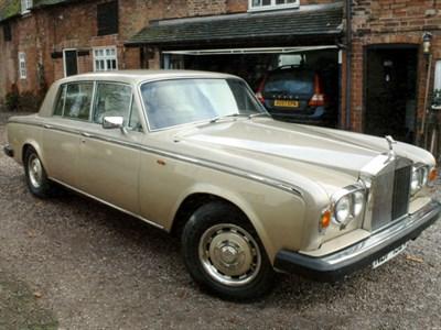 Lot 13-1980 Rolls-Royce Silver Shadow II