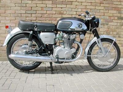 Lot 3 - 1966 Honda CB450 Black Bomber