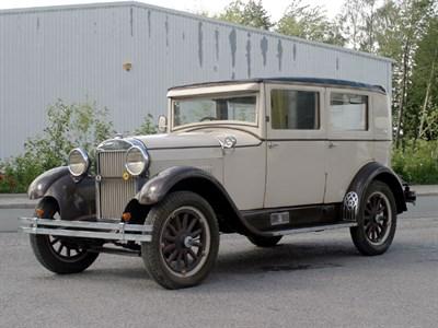 Lot 59-1928 Essex Super Six Sedan