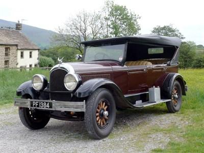 Lot 41-1927 Chrysler Series 70 Phaeton