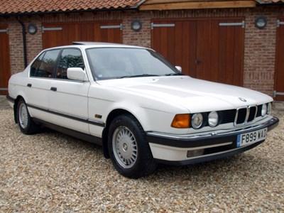 Lot 14-1989 BMW 730i
