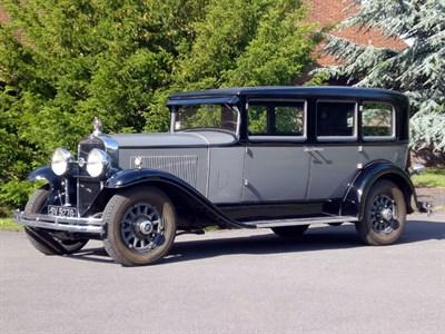 Lot 52-1930 La Salle Series 340 Seven-Passenger Sedan