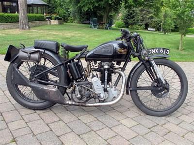 Lot 5 - 1933 Velocette KTT MK4