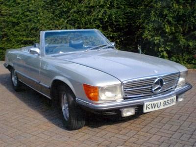Lot 20-1975 Mercedes-Benz 450 SL