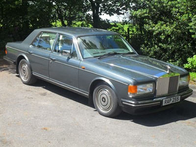 Lot 42-1989 Rolls-Royce Silver Spirit