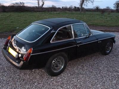 Lot 23-1975 MG B GT V8