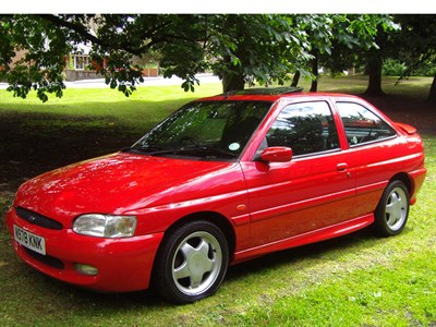 Lot 26-1996 Ford Escort RS 2000