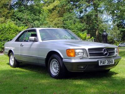 Lot 27-1982 Mercedes-Benz 500 SEC