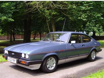 Lot 28-1983 Ford Capri 2.8i