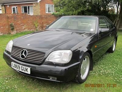 Lot 47-1994 Mercedes-Benz S 600