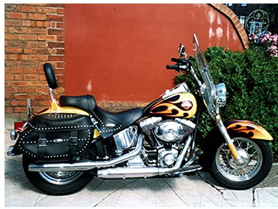 Lot 11 - 2001 Harley Davidson FLSTC