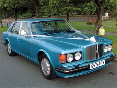 Lot 19-1990 Bentley Turbo R