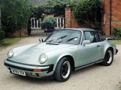 Lot 63-1985 Porsche 911 Carrera 3.2 Targa