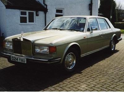 Lot 4-1986 Rolls-Royce Silver Spirit