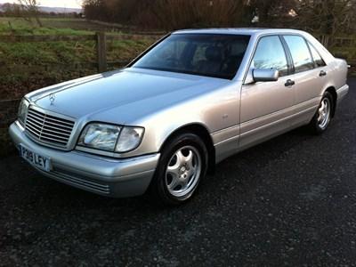 Lot 65-1997 Mercedes-Benz S 280