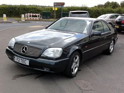 Lot 66-1994 Mercedes-Benz CL 500