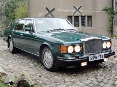Lot 11-1991 Bentley Eight