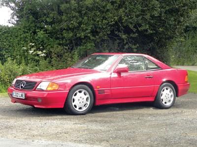Lot 54-1993 Mercedes-Benz SL 320