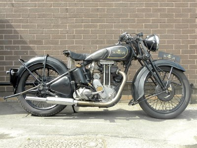 Lot 42 - 1937 Sunbeam Model 9
