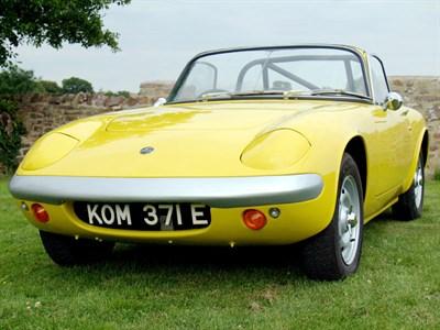 Lot 69-1967 Lotus Elan S3
