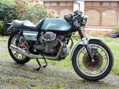 Lot 16 - 1978 Moto Guzzi 850 Le Mans