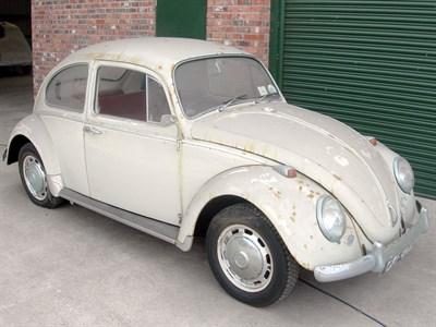 Lot 80-1966 Volkswagen Beetle 1300
