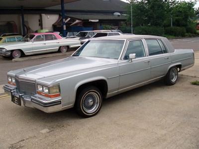 Lot 84-1989 Cadillac Fleetwood 'Louis Vuitton' Edition