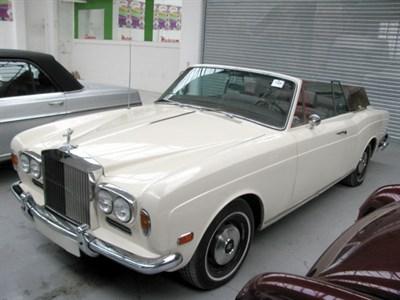 Lot 85-1973 Rolls-Royce Corniche Convertible