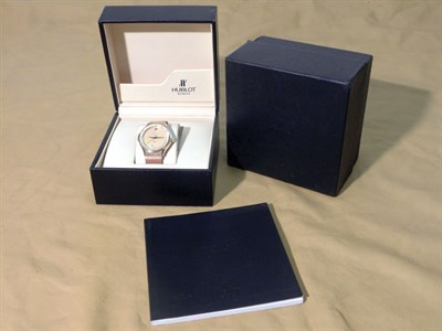 Lot 802 - Hublot 'MDM Geneve' Gent's Wristwatch