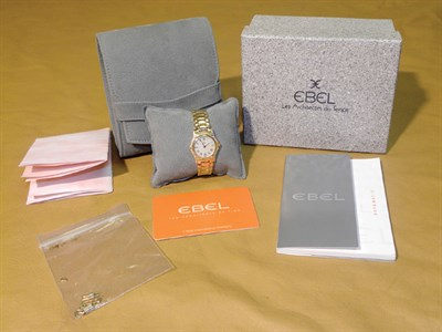 Lot 803 - Ebel '1911 Model' Ladies Wristwatch