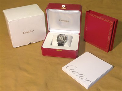 Lot 804 - Cartier 'Santos 100' Gent's Wristwatch