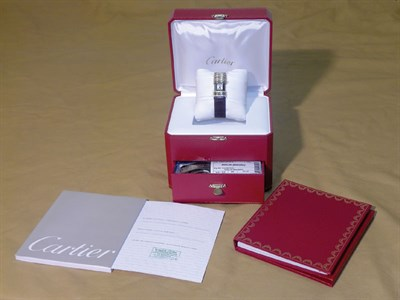Lot 805 - Cartier Declaration Ladies Wristwatch