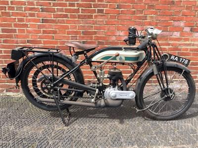 Lot 127-1926 Triumph Model P