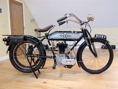 Lot 21-1911 Ariel 3 1/2hp