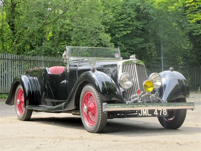 Lot 31 - 1937 Aston Martin 2 Litre 15/98 Four-Seater Tourer