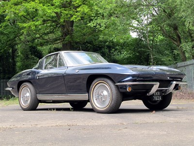 Lot 29 - 1963 Chevrolet Corvette Sting Ray Sport Coupe